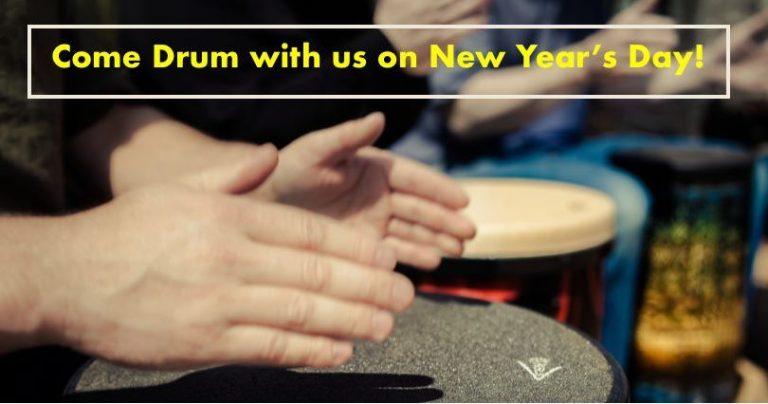 New Years Day Community Drum Circle
